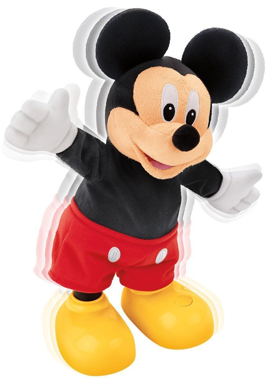 Mickey Mouse Clubhouse Dance Amp Shout Plush Toy